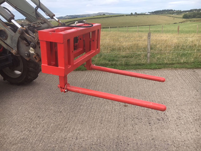 Hydraulic Bale Stacker