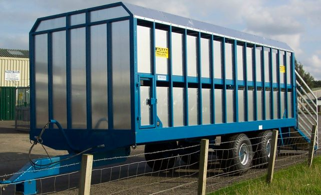 Lagan Livestock Trailer - no decks